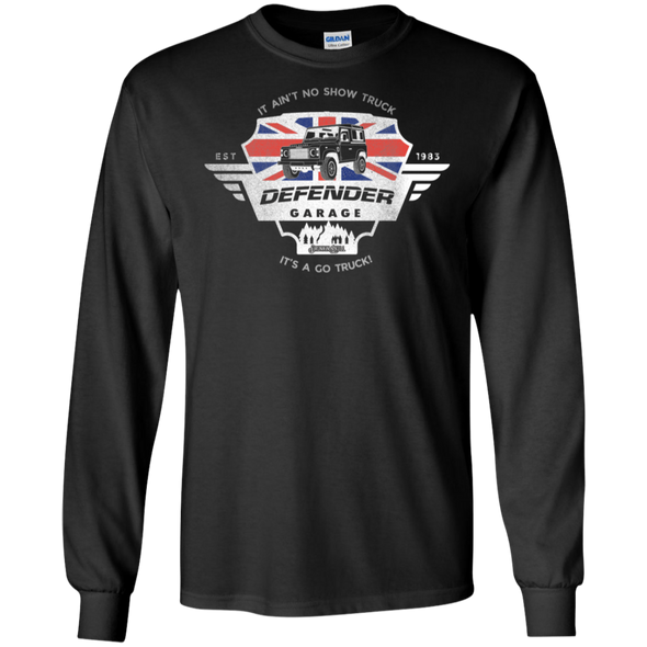 Defender Garage Long Sleeve Tee