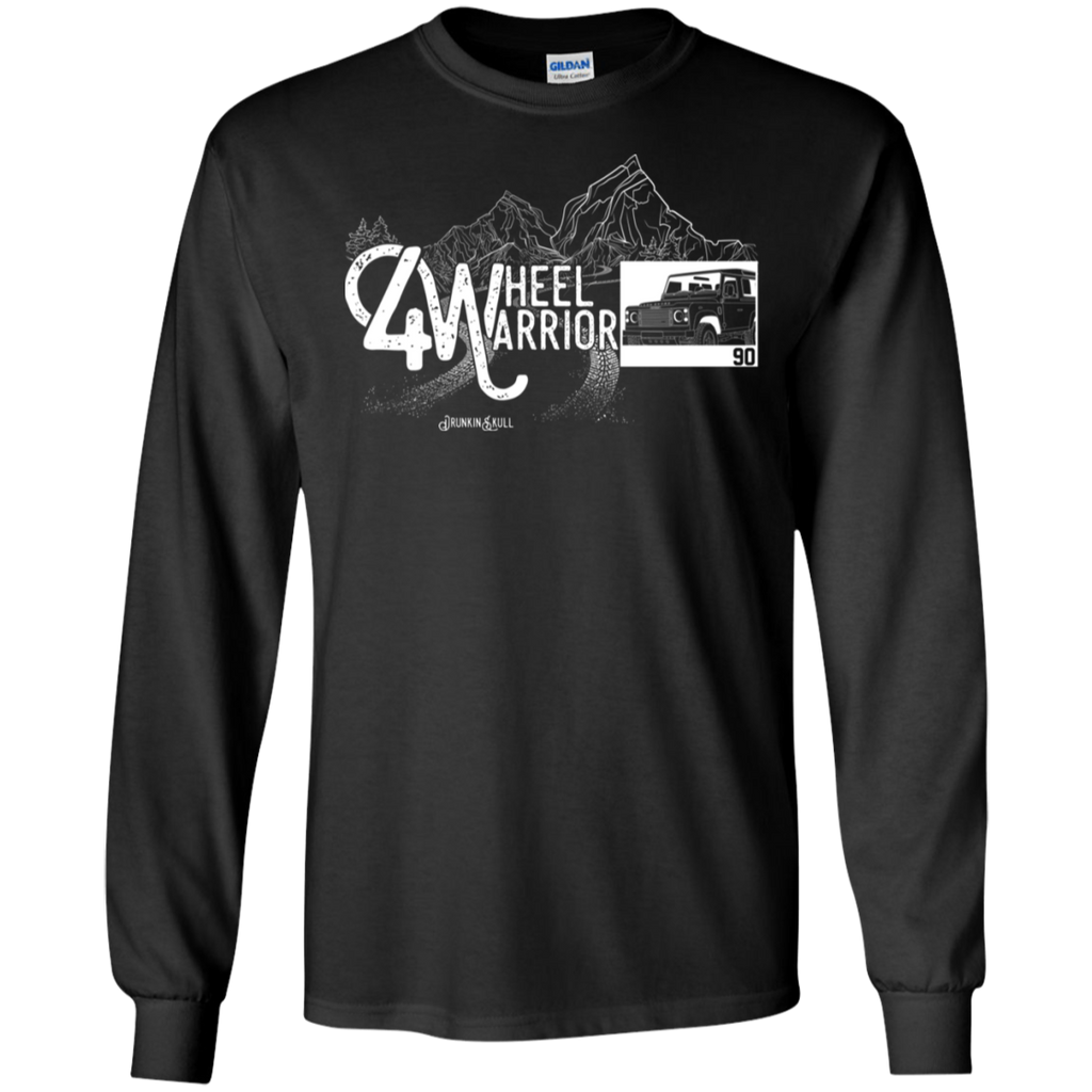 Defender 90 4 Wheel Warrior Long Sleeve Tee