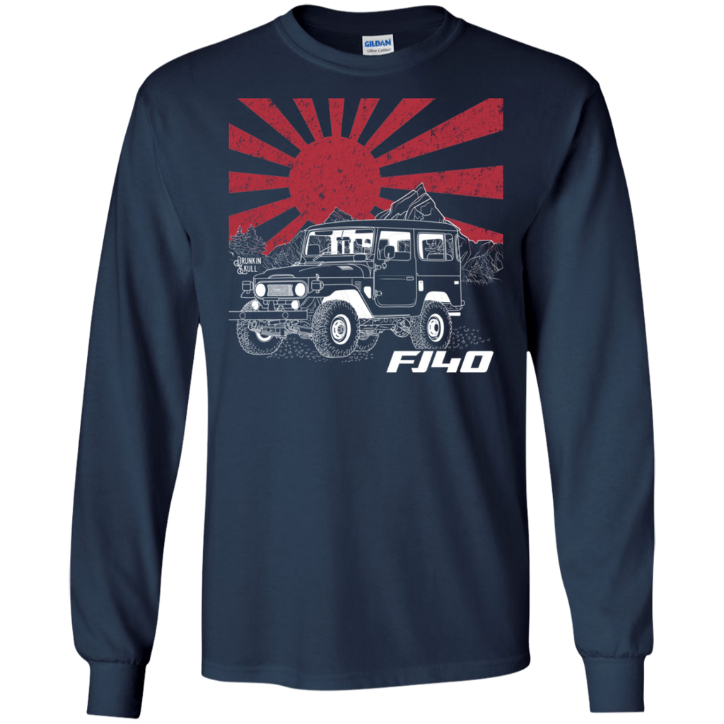 FJ40 Toyota Land Cruiser Heritage Series Long Sleeve Tee