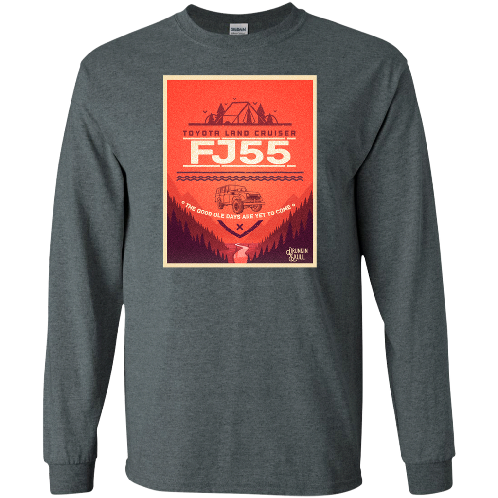 FJ55 Toyota Land Cruiser Adventure Series Long Sleeve T-Shirt