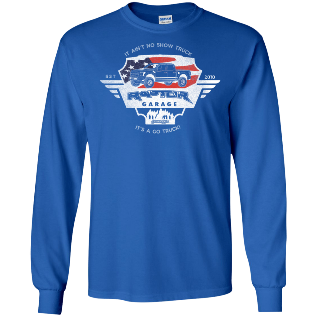 Raptor Garage Long Sleeve Tee