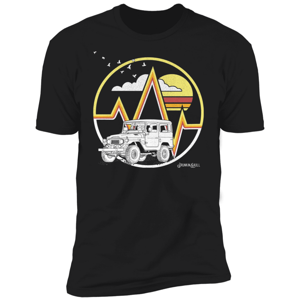 FJ40 Livery Retro Series Black Tee
