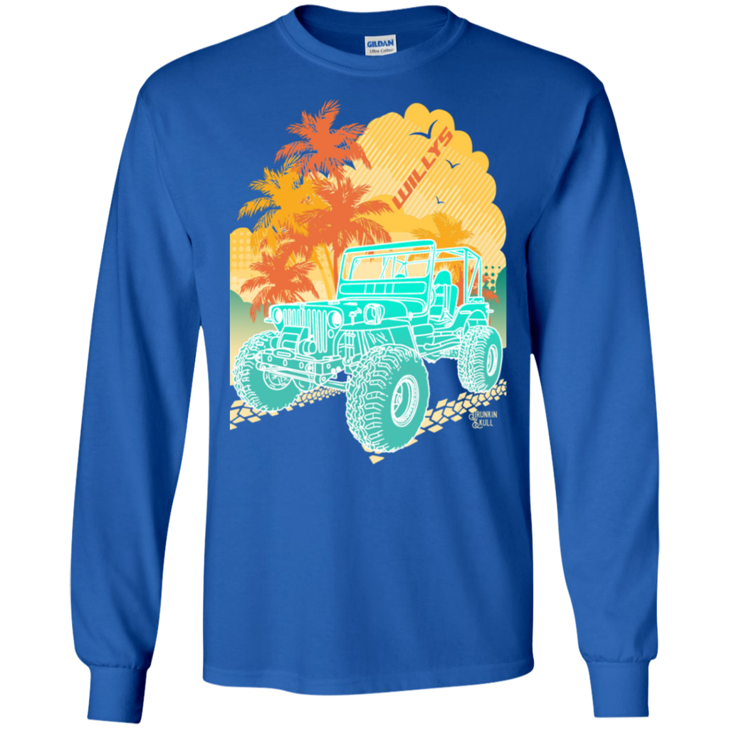 Jeep Willys Aloha Series Long Sleeve Tee