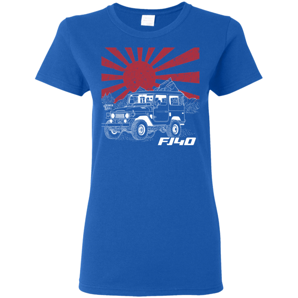 FJ40 Toyota Land Cruiser Heritage Series Ladies Tee