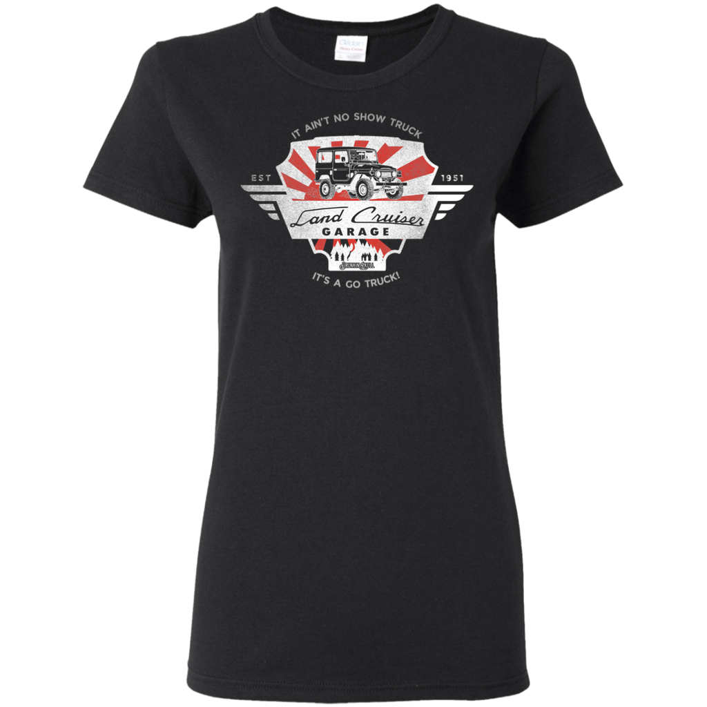 FJ45 Toyota Land Cruiser Garage Ladies Tee