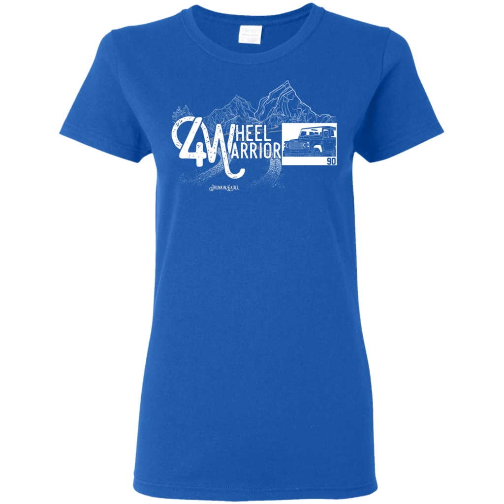 Defender 90 4 Wheel Warrior Ladies Tee