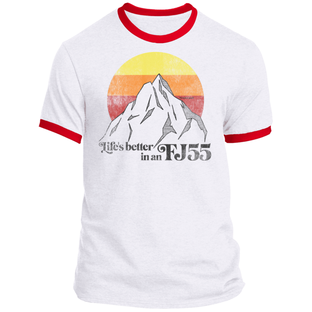 Life's Better in an FJ55 Livery Ringer T-Shirt