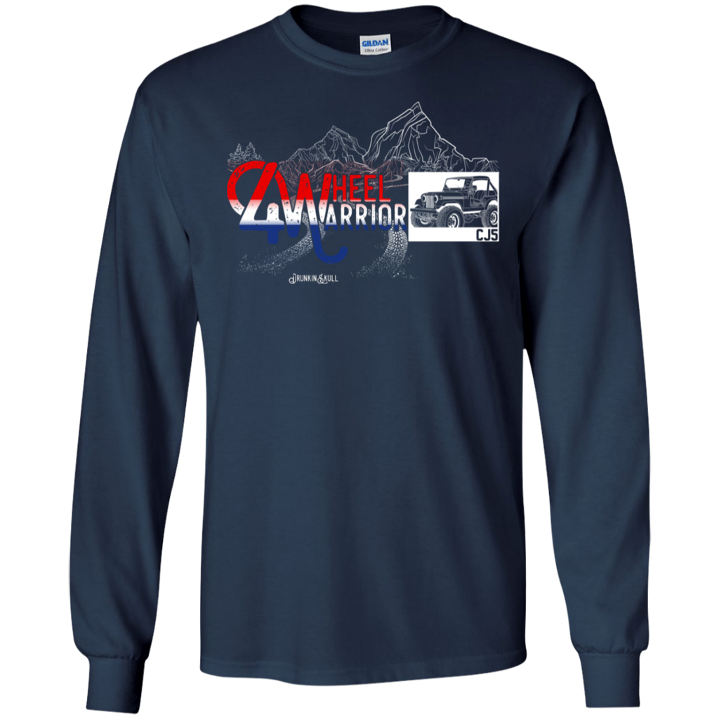 Jeep CJ 4 Wheel Warrior Long Sleeve Tee