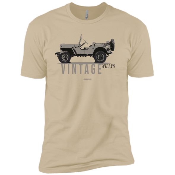 Jeep Willys Vintage Truck Tee