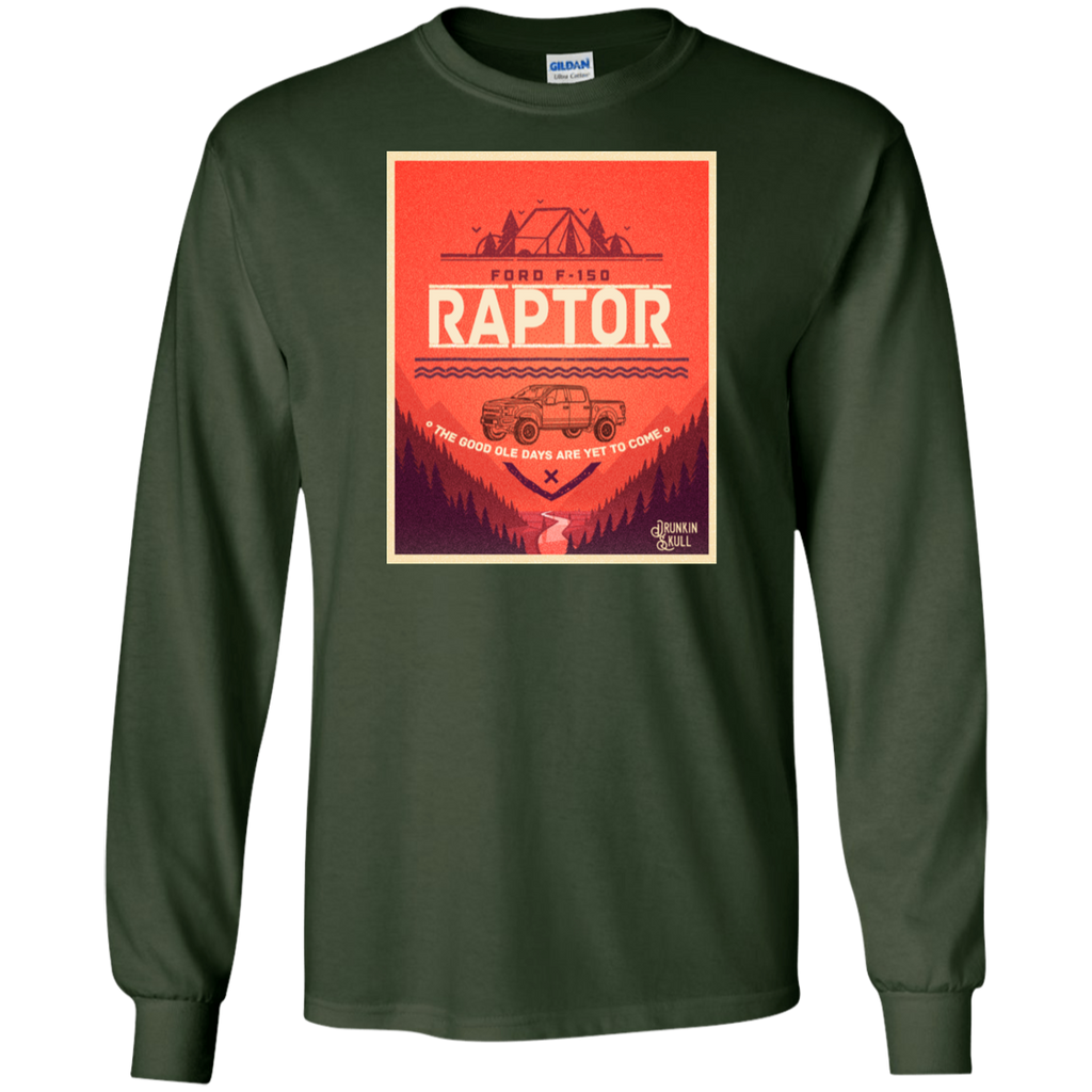 Raptor Adventure Series Long Sleeve Tee