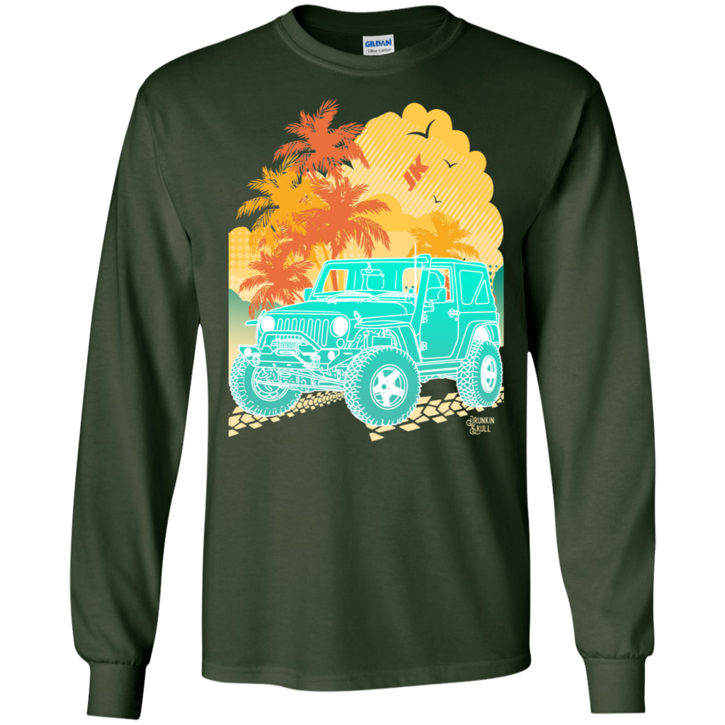Jeep JK Aloha Series Long Sleeve Tee