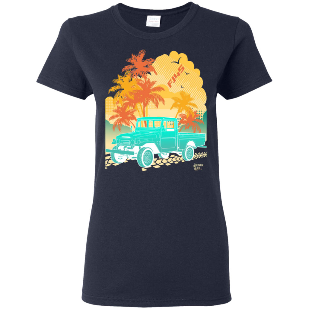 FJ45 Toyota Land Cruiser Aloha Series Ladies Tee