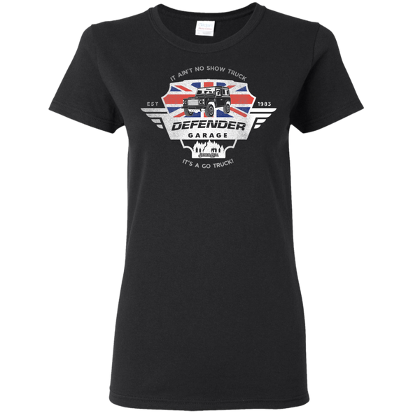 Defender Garage Ladies Tee