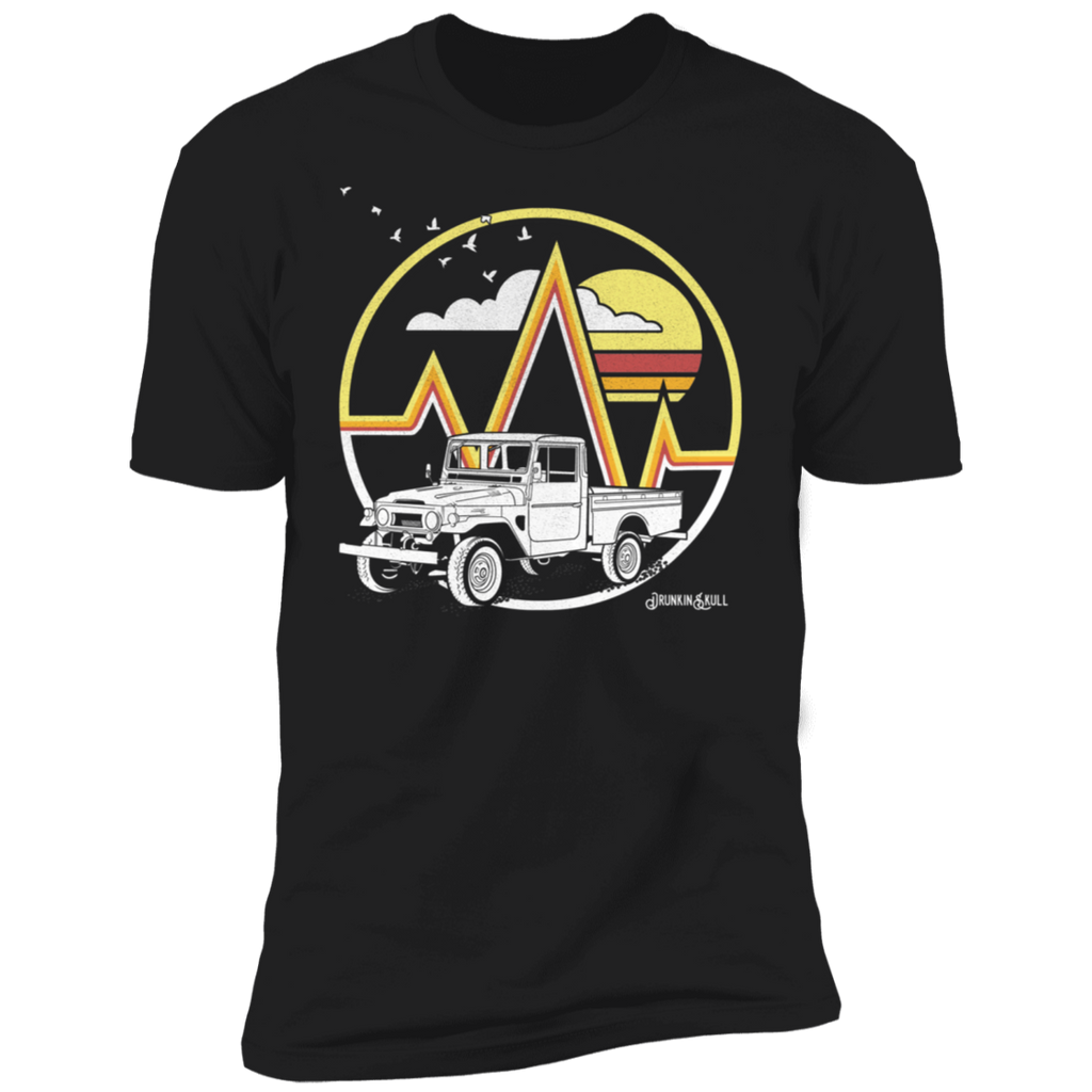 FJ45 Livery Retro Series Black Tee
