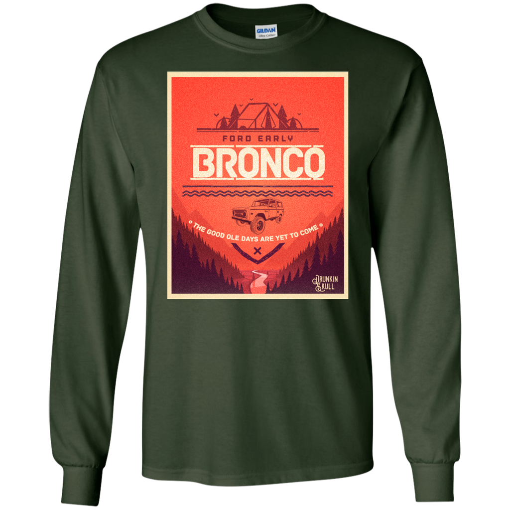 Ford Early Bronco Adventure Series Long Sleeve Tee