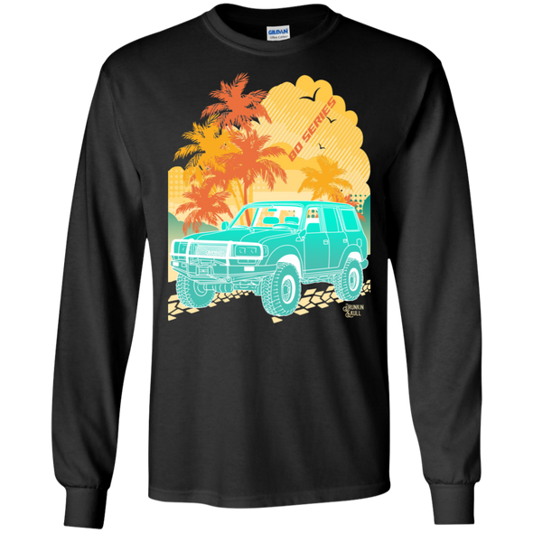Land Cruiser 80 Series Aloha Series Long Sleeve tee