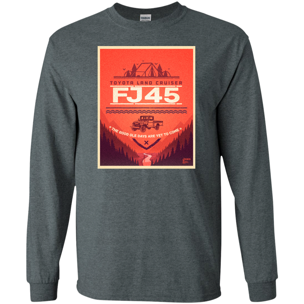 FJ45 Toyota Land Cruiser Adventure Series Long Sleeve Tee