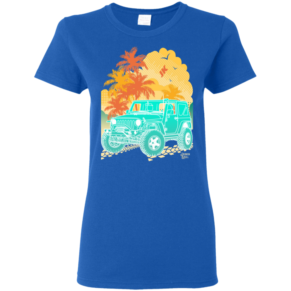 Jeep JK Aloha Series Ladies Tee