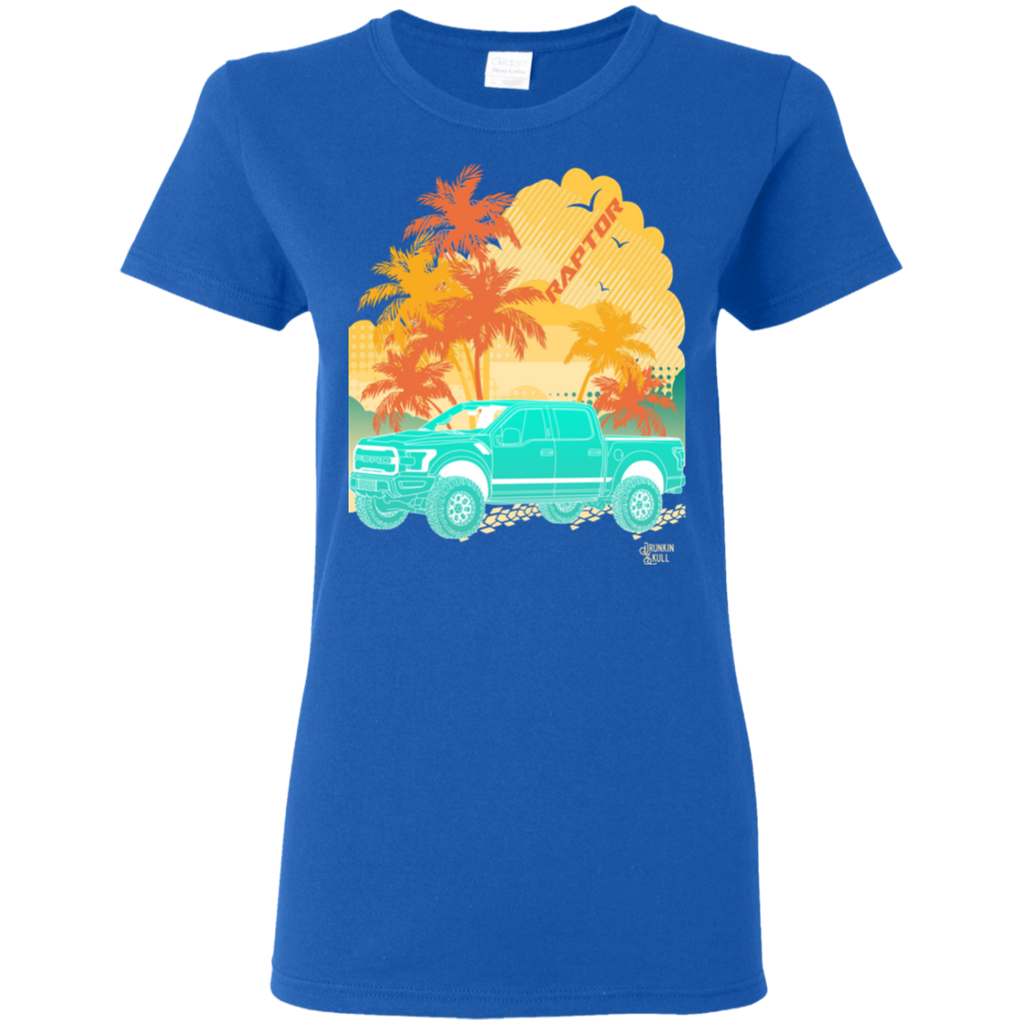 Ford Raptor Aloha Series Ladies Tee