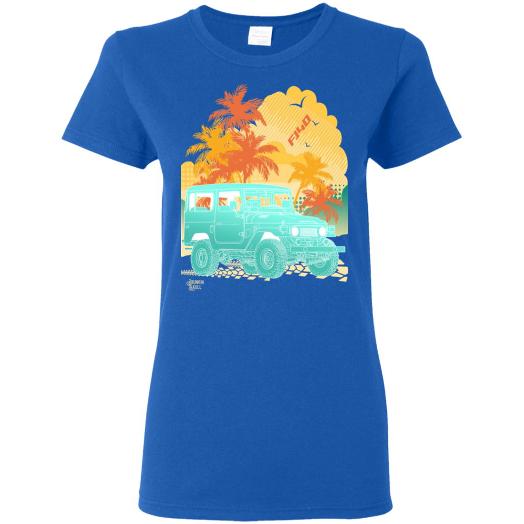 FJ40 Toyota Land Cruiser Aloha Series Ladies Tee