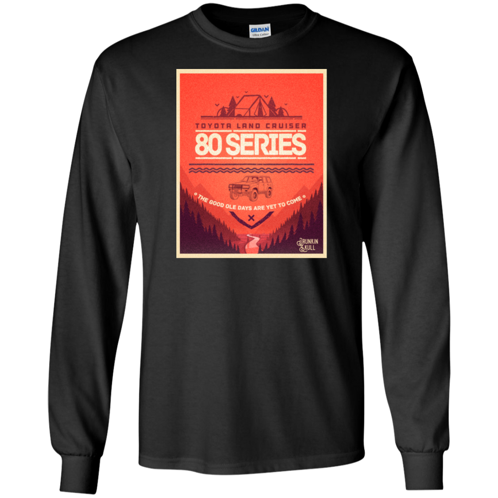 Land Cruiser 80 Series Adventure Series Long Sleeve tee
