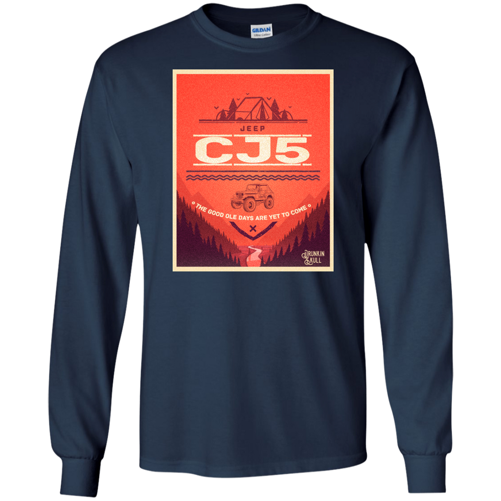 Jeep CJ Adventure Series Long Sleeve Tee
