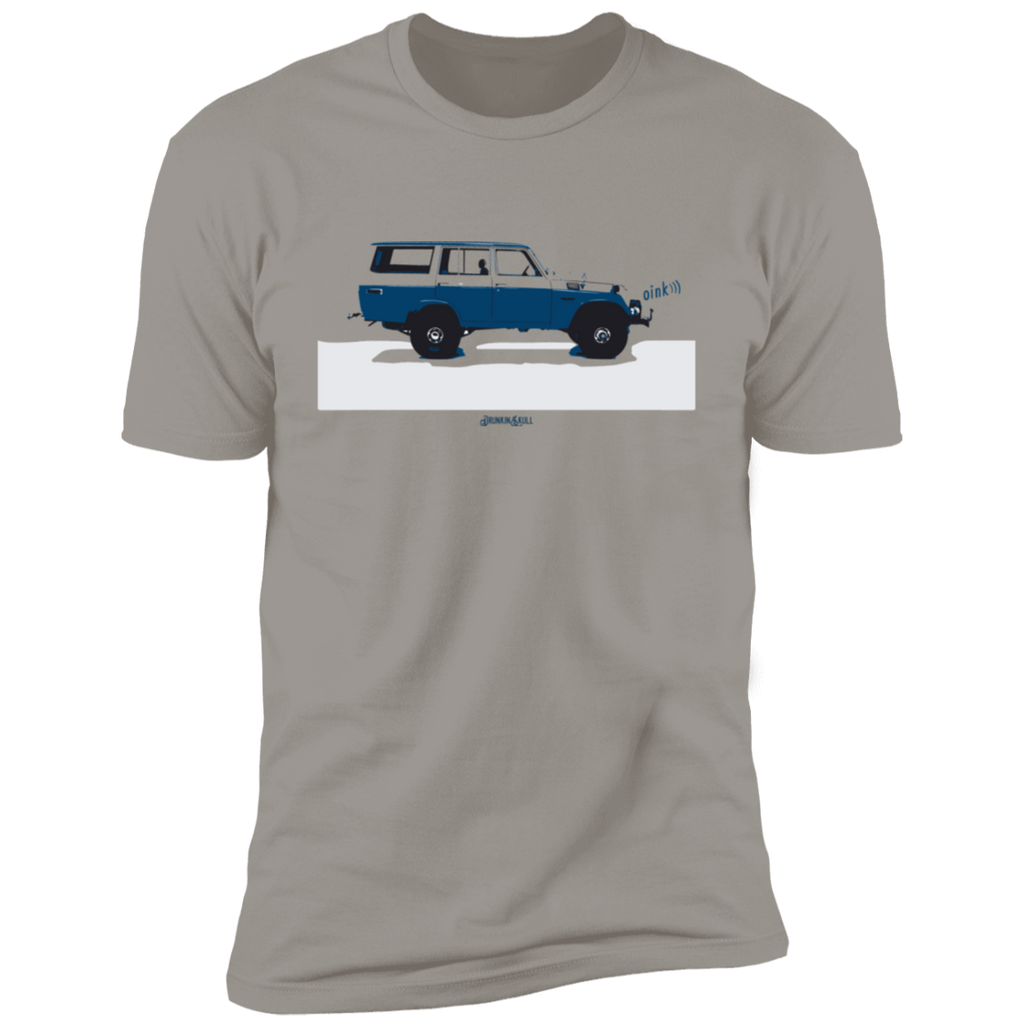 FJ55 Oink Retro Grey Tee