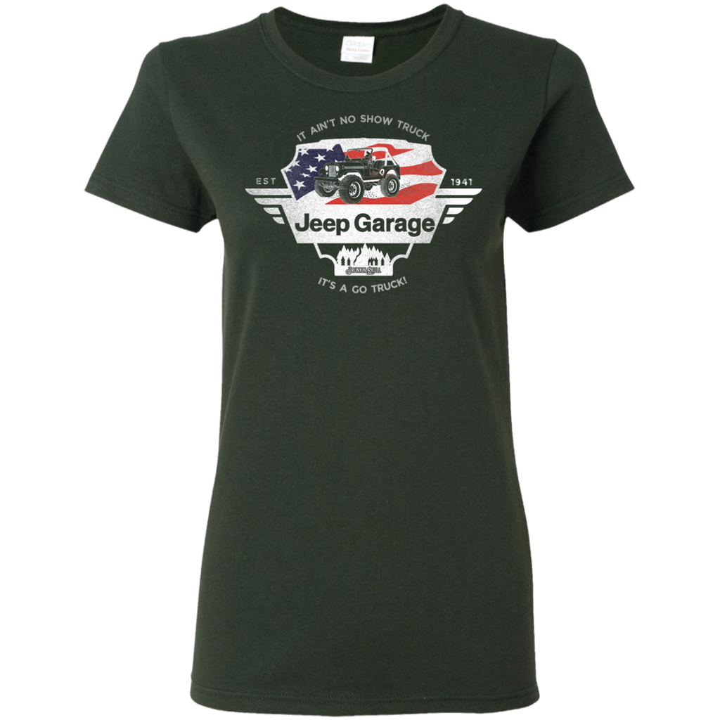 Jeep Garage Ladies Tee