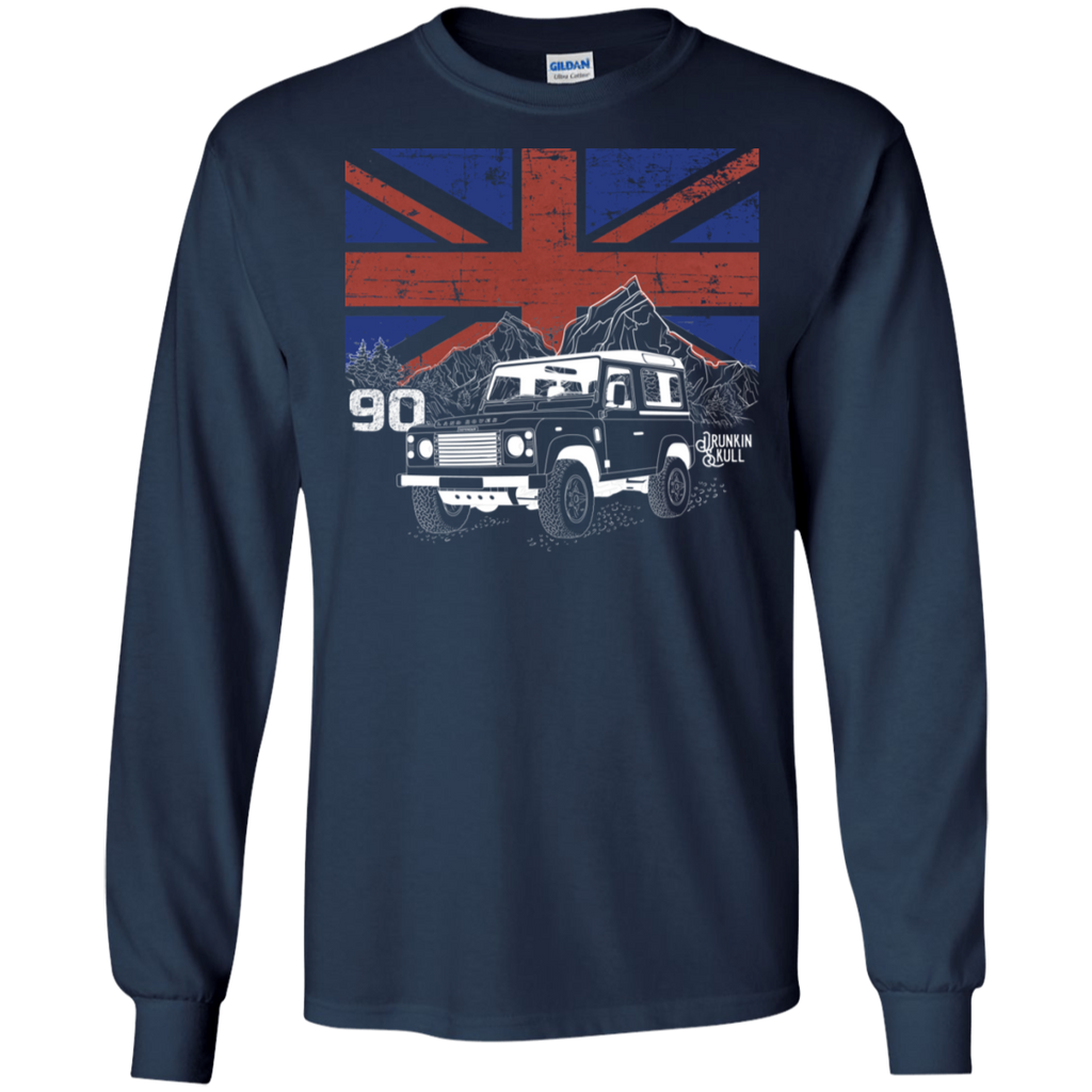 Defender 90 Heritage Series Long Sleeve Tee