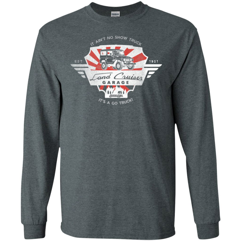 FJ55 Toyota Land Cruiser Garage Long Sleeve T-Shirt