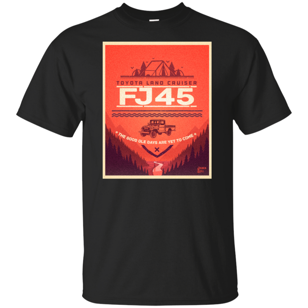 FJ45 Toyota Land Cruiser Adventure Series Tee
