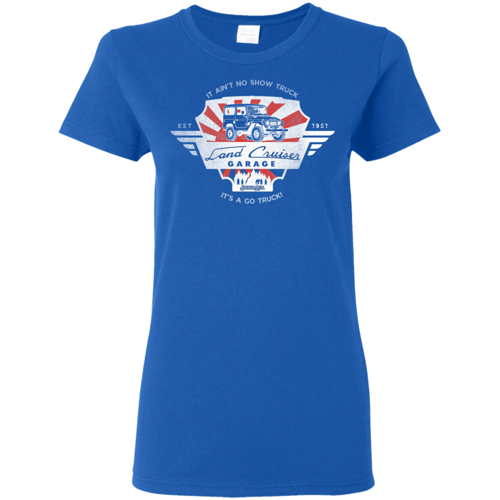 Toyota Land Cruiser Garage Ladies Tee