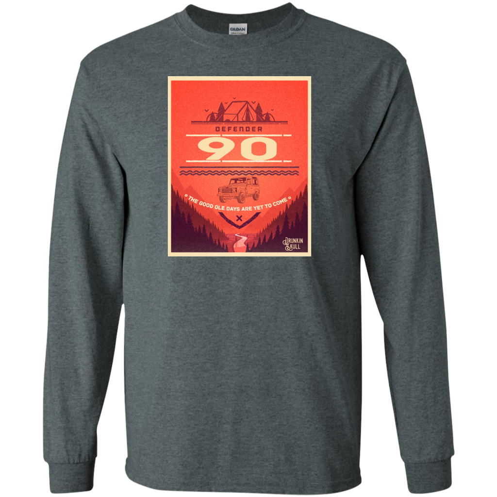 Defender 90 Adventure Series Long Sleeve Tee