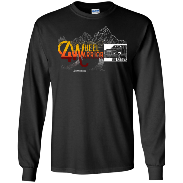 Land Cruiser 80 Series 4 Wheel Warrior Long Sleeve tee