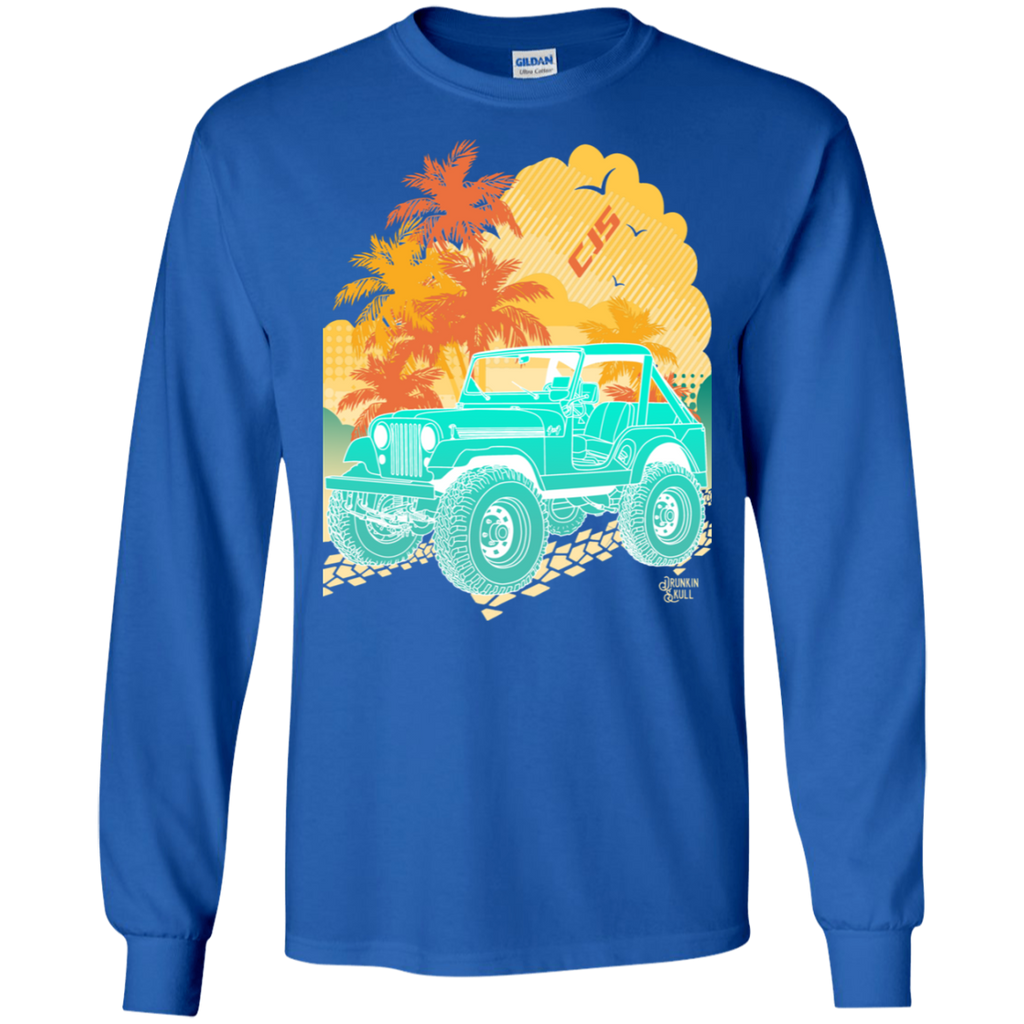 Jeep CJ Aloha Series Long Sleeve Tee