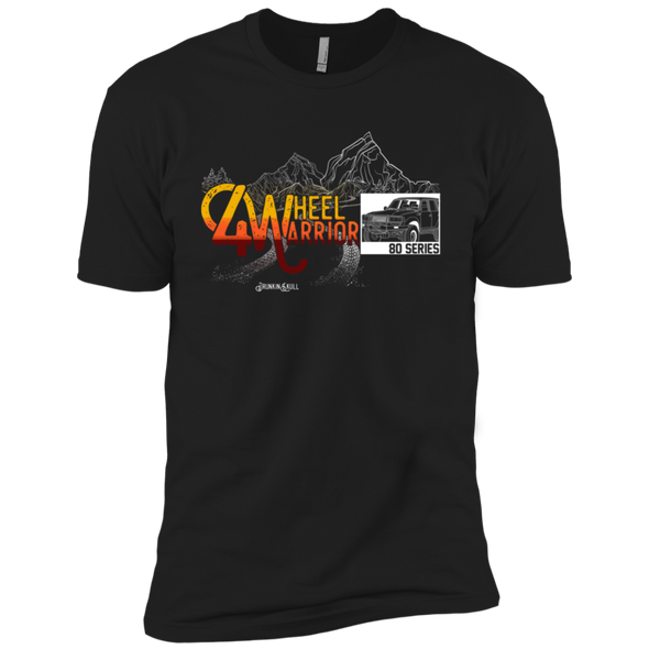 Land Cruiser 80 Series 4 Wheel Warrior Tee