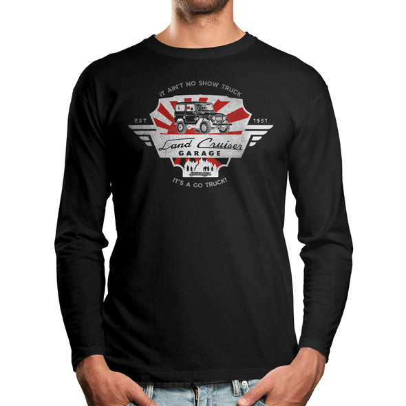 Toyota Land Cruiser Garage Long Sleeve Tee