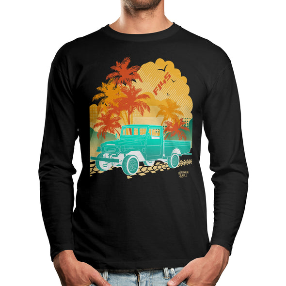 FJ45 Toyota Land Cruiser Aloha Series Long Sleeve Tee