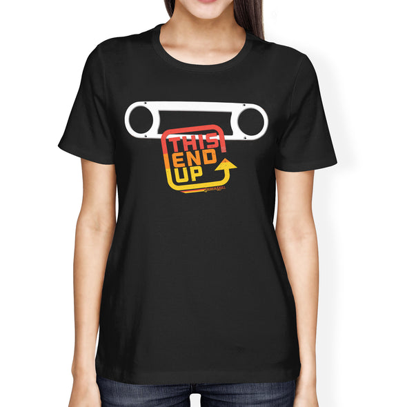 FJ45 Toyota Land Cruiser Bezel Ladies Tee