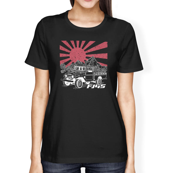 FJ45 Toyota Land Cruiser Heritage Series Ladies Tee