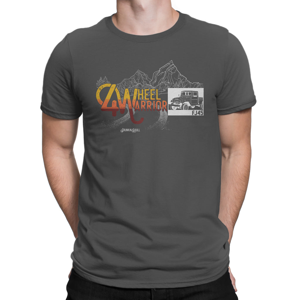 FJ45 Toyota Land Cruiser 4 Wheel Warrior Tee