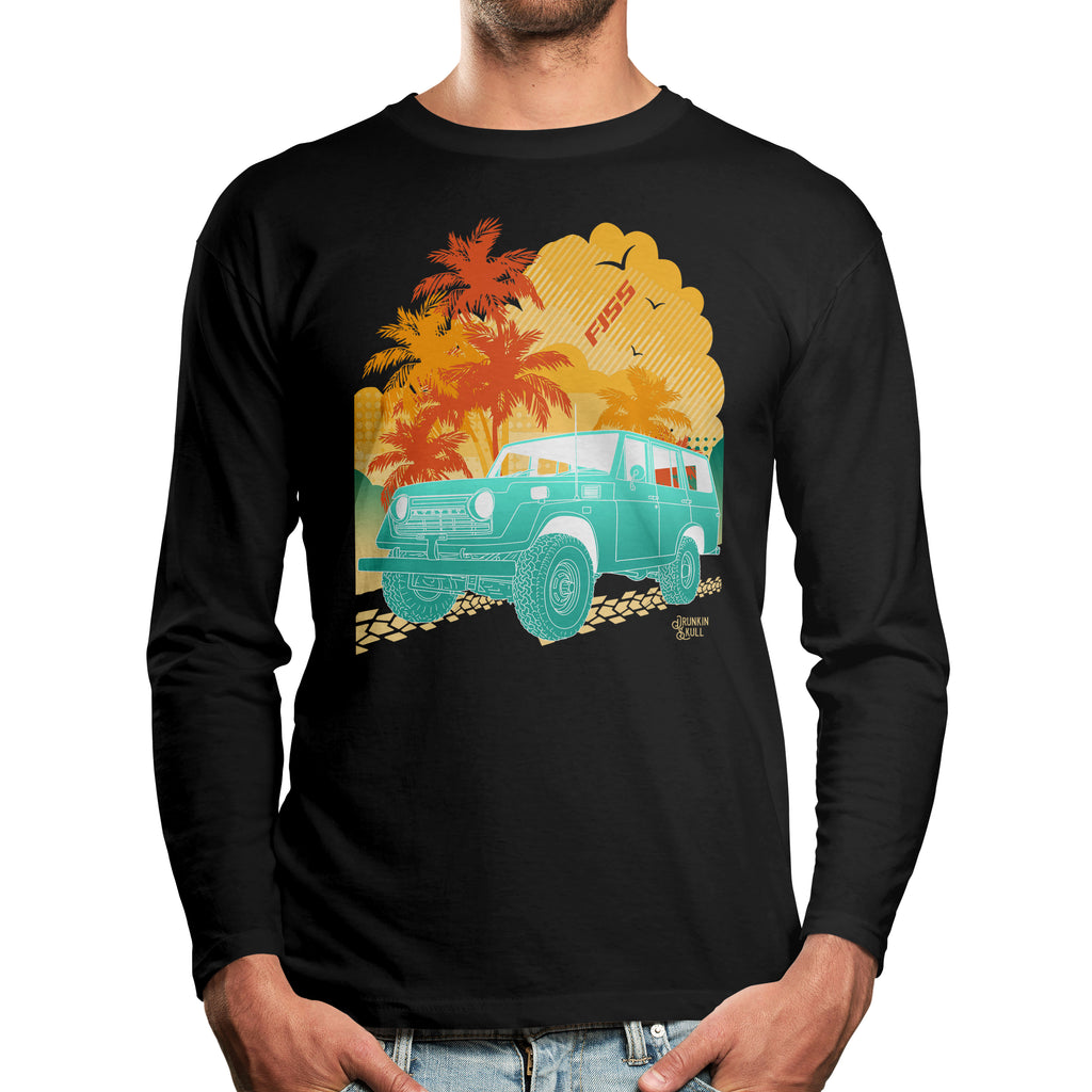 FJ55 Toyota Land Cruiser Aloha Series Long Sleeve T-Shirt
