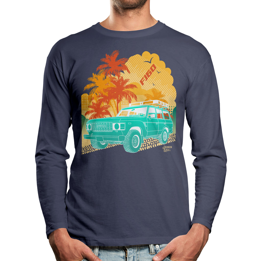 FJ60 Toyota Land Cruiser Aloha Series Long Sleeve T-Shirt