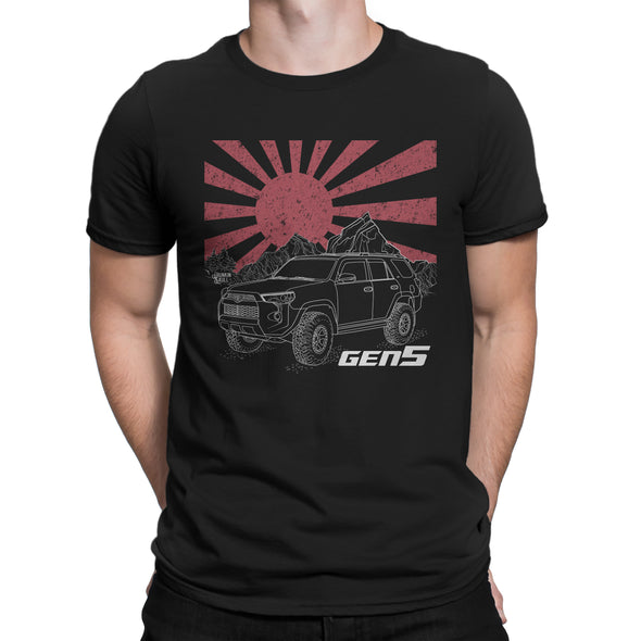 5th Gen Four Runner Livery Series Tee