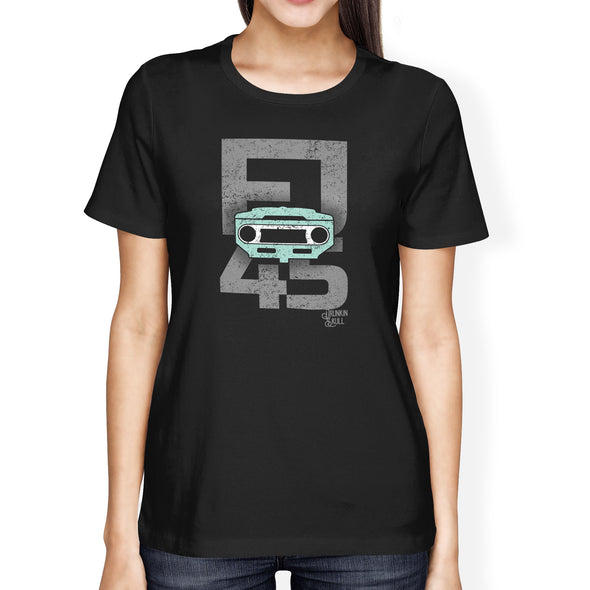 FJ45 Toyota Land Cruiser Grille Ladies Tee