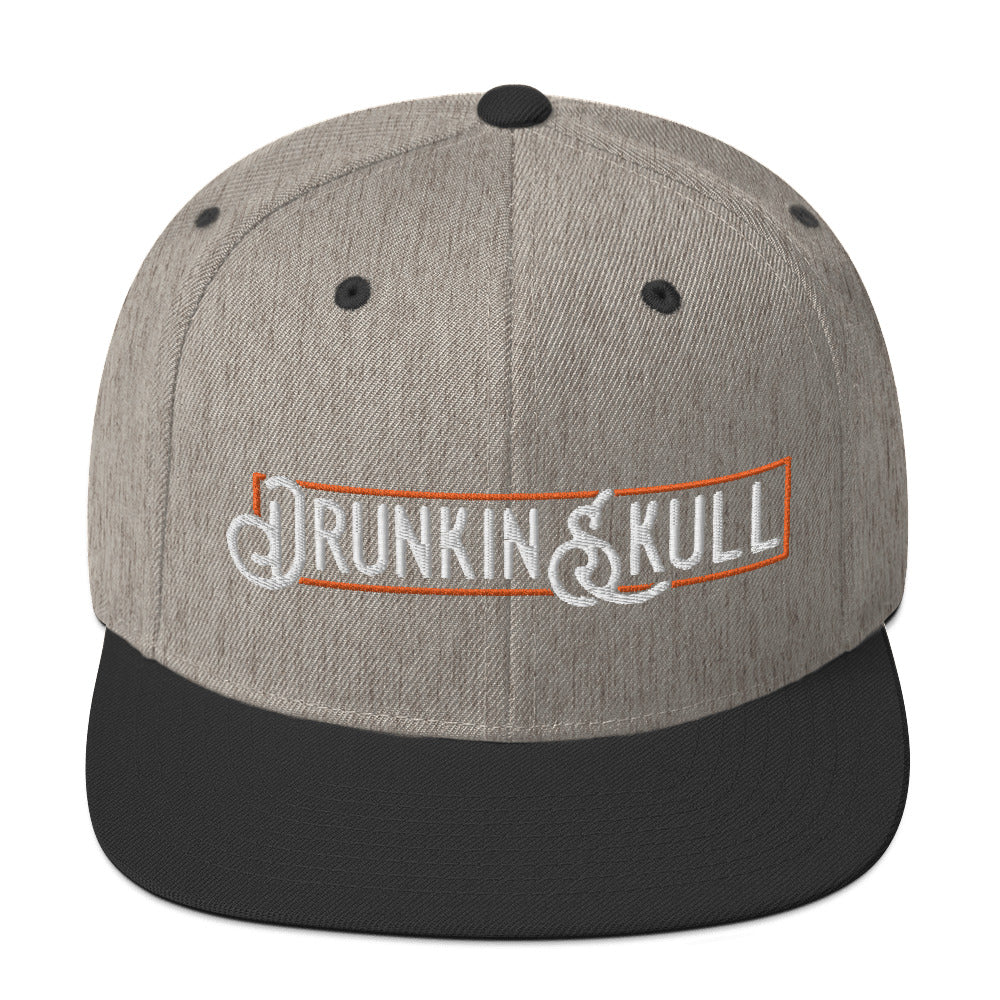 Drunkin Skull Co. Snapback Hat