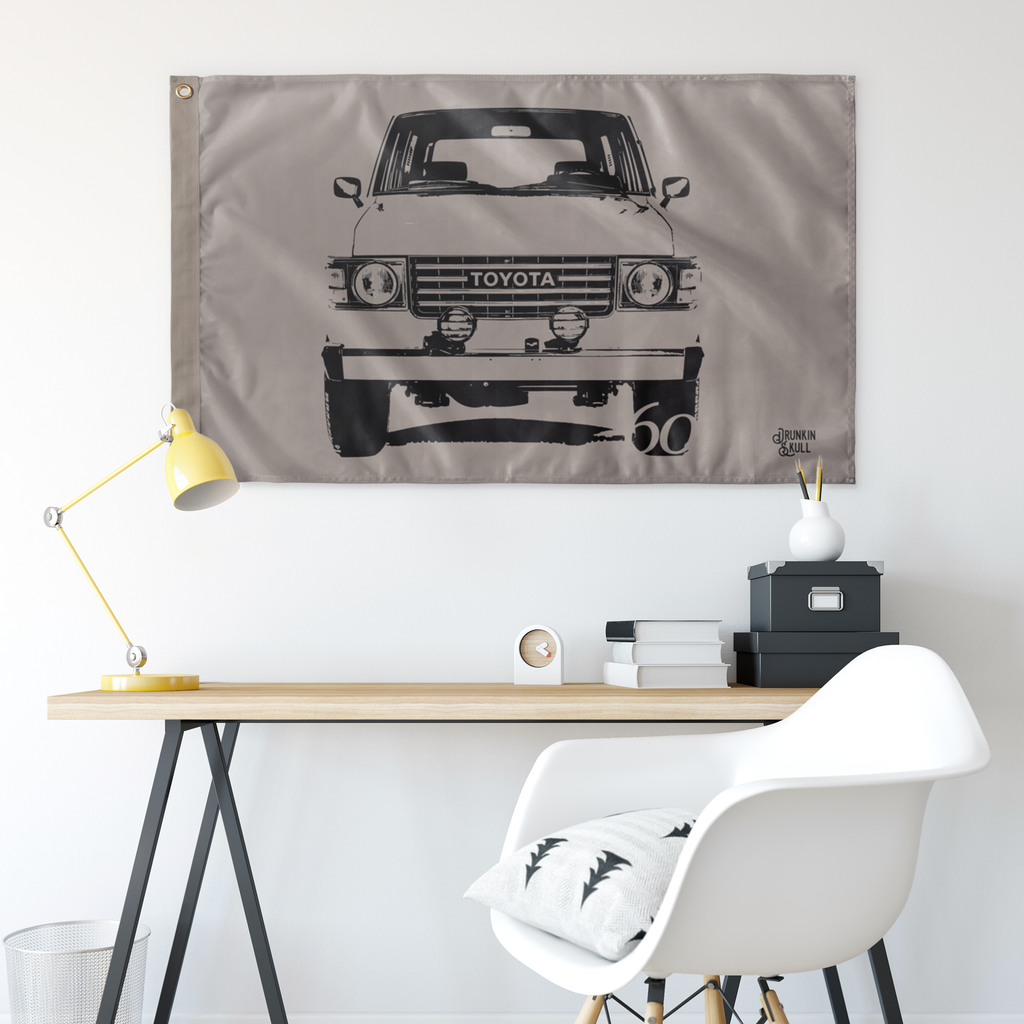 FJ60 Sahara Series 3x5 Wall Flag