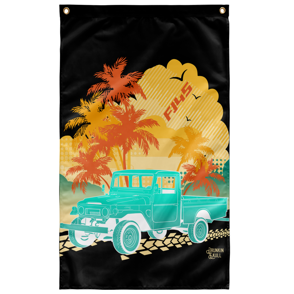 FJ45 Aloha Series 3x5 Wall Flag