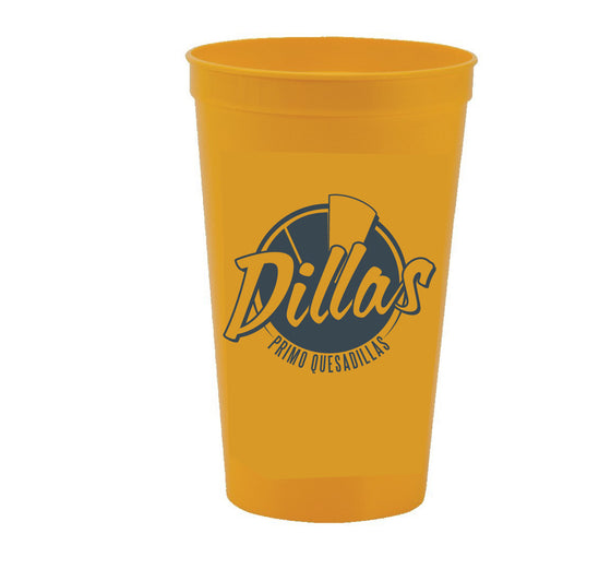 Dillas 22oz Stadium Cups