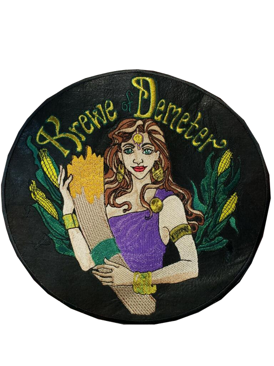 "Krewe of Demeter Patch for ""Trash Jacket"""